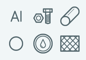 ELASTO Metal structures and steel products Flat & Outline icons