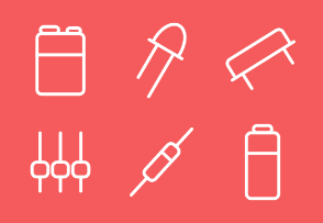 Electronic components line