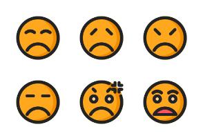 Emoji (Filled Outline)