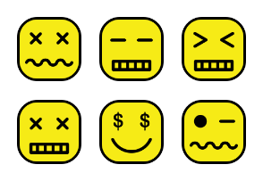 Emoticon Set Volume 3