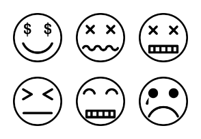 Emoticon Set Volume 4
