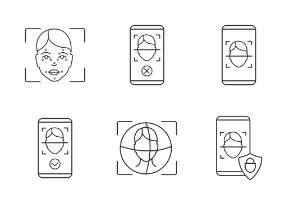 Face recognition. Linear. Outline