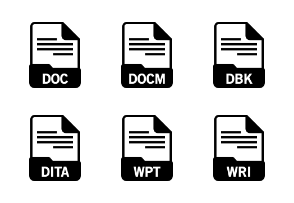File Format: Documents Glyph 1