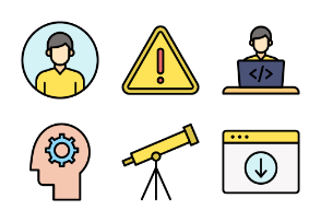 Fillicons: Information Technology