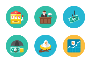 Finance Icons - Rounded