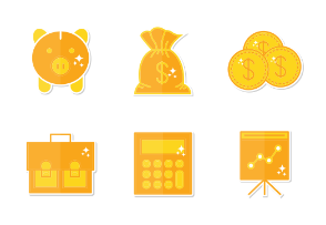 Finance stickers