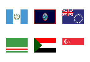 Flag All Country 2