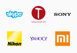 Flat Brand Logo