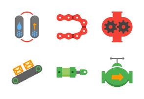 Flat Industrial equipment