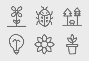 Flowers Plants Hand Drawn vol 1