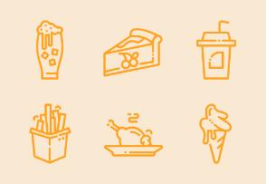 Food and beverage (line)