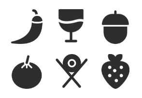 Food and Drink Set from Iconspace