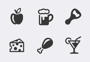 Food and Drinks icons