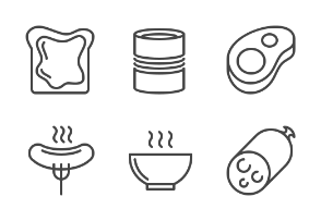 iOS icons - Foods