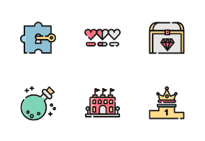 Game Color Iconset
