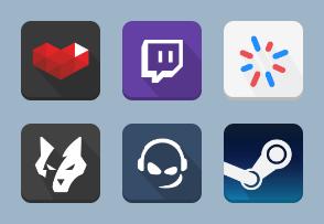 Gaming Platforms Squircle