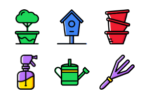 Garden 2 - Cartoony
