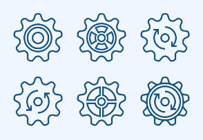 Gears (outline)
