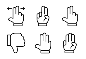 Hand Touch Gesture