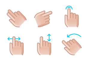 Hands & gestures (color)