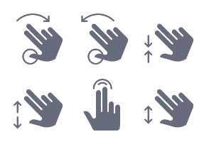 Hands & gestures (glyph)