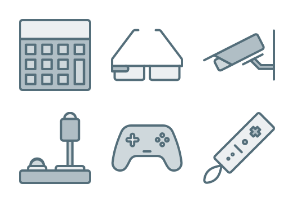 Hardware and Devices #2 (Filled Line)
