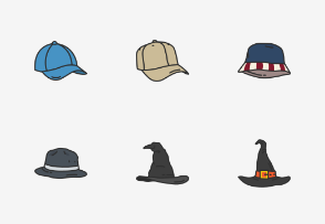 Hats & Caps - Colored
