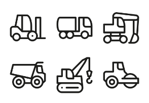 Heavy construction machinery, trucks, trailers and tractors ELASTO FONT NEXT