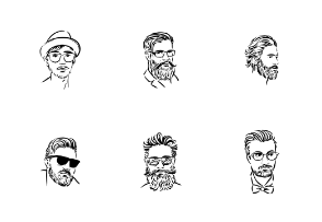 Hipsterst portraits