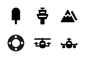 Holiday Material Glyph