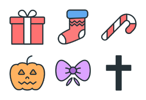 Holidays - Color Icons