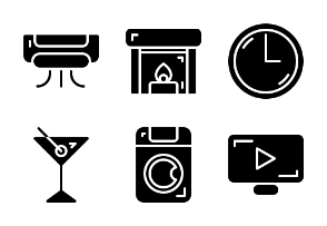 Hotel Service (glyph/solid)