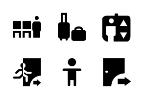 Institution Material Glyph