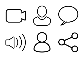 Interface Icons: Line