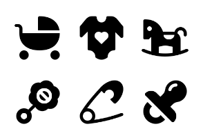 Baby - Jumpicon (Glyph)