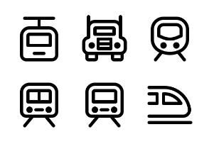Transportation - Jumpicon (Line)