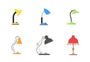 Lamp, lights and lantern