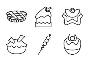 line cakes
