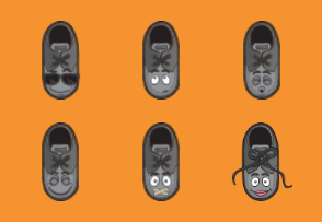 Loafer Shoe Emoji Cartoons
