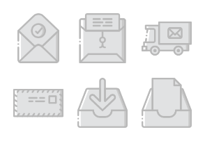 Mail - Greyscale