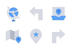 Maps & Navigation (Flat)