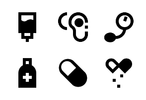 Medical and Health Glyph 24 px