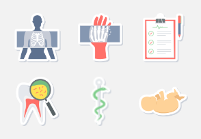 MEDICAL STICKER ICONS PART-2