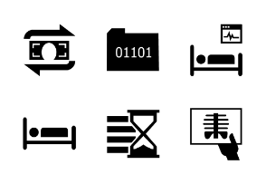 Medical Icons Normal Vector
