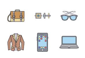 Men's clothing, color