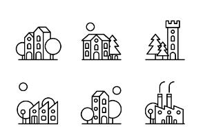 Mini city3 outline
