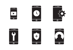 Mobile apps Glyph
