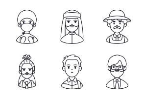 Occupation and People Avatar Vol.1