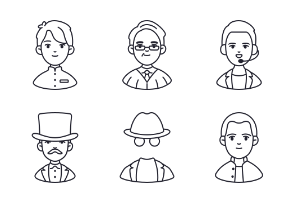 Occupation and People Avatar Vol.3
