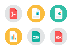 Office Files Icons - Rounded